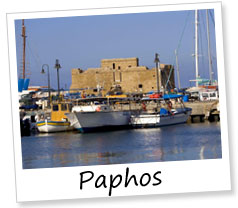 Paphos town, Cyprus